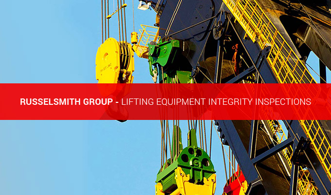 Lifting Equipment Integrity Inspection Services from RusselSmith