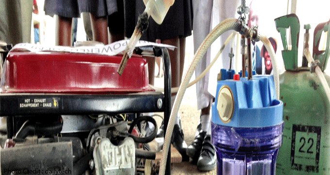 Four African Girls Create Generator That Uses Urine As Fuel