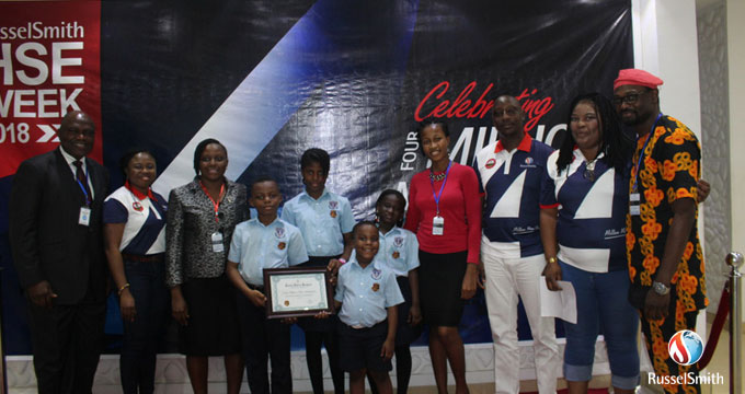 RusselSmith Inducts New Batch Of Junior Safety Rangers™