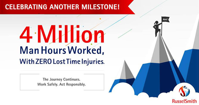 4 Million Man Hours Website