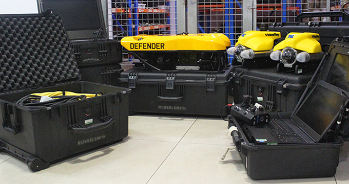 RusselSmith Acquires VideoRay Mission Specialist Series ROV