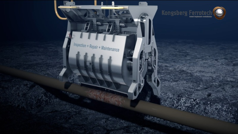 Subsea Pipeline Repair Robot From Kongsberg Ferrotech And RusselSmith